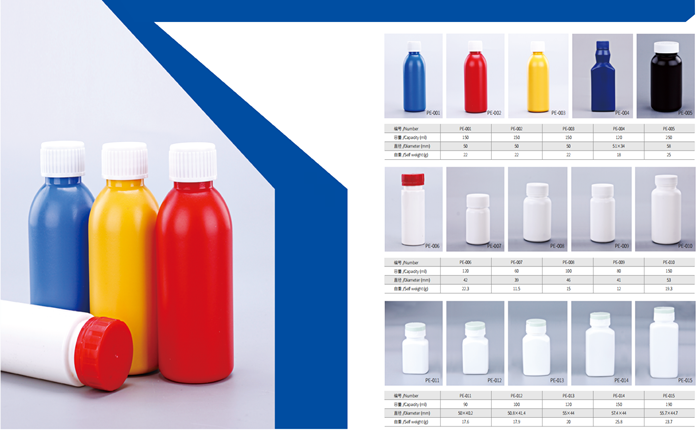 Plastic bottles are used widely