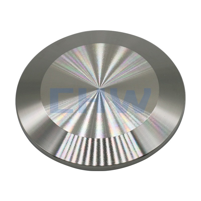 Sanitary stainless steel high quality Ferrule cap Blank ss304 ss316L DIN SMS ISO 3A BPE IDF AS BS