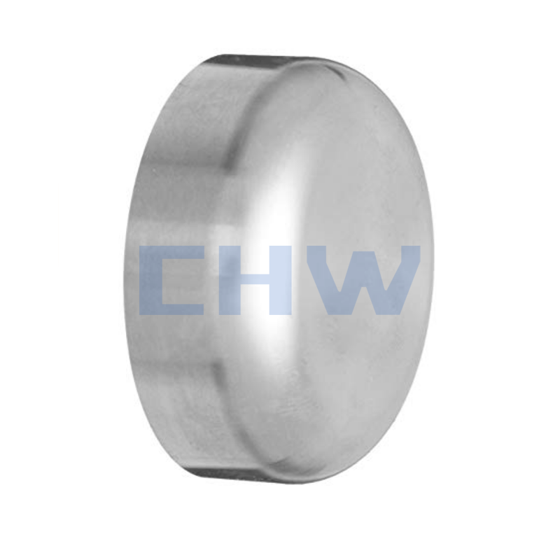 Sanitary stainless steel high quality cap SS304 SS316L DIN SMS ISO 3A BPE IDF AS BS
