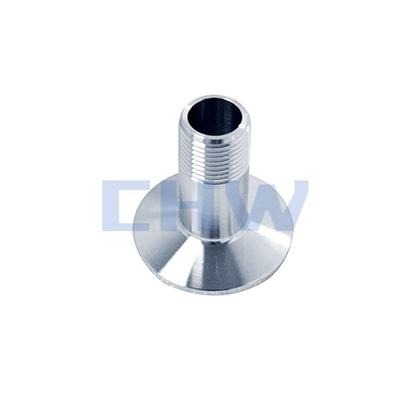 Stainless steel sanitary standard Screwed Ferrule