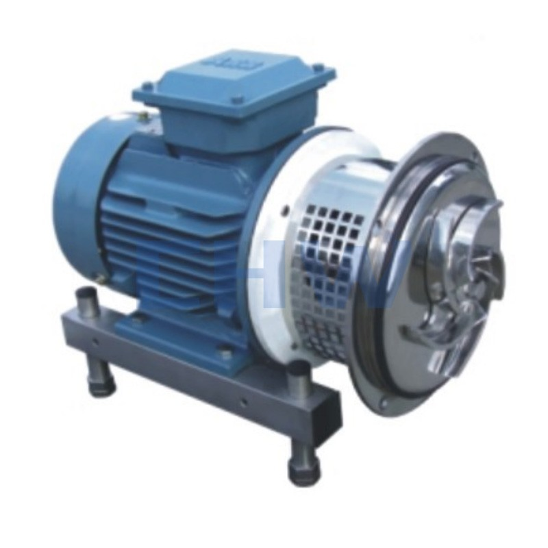 Sanitary stainless steel high quality Self-priming pump ss304 ss316L DIN SMS ISO 3A BPE IDF AS BS