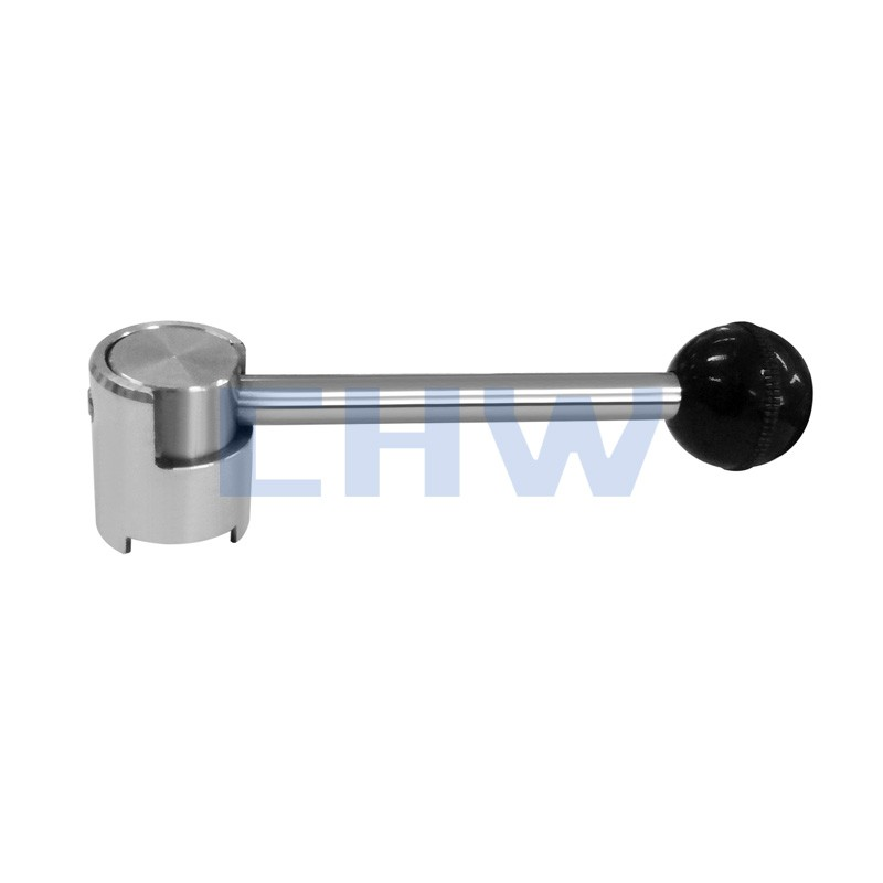 Sanitary stainless steel high quality pull handle ss304 ss316L DIN SMS ISO 3A BPE IDF AS BS