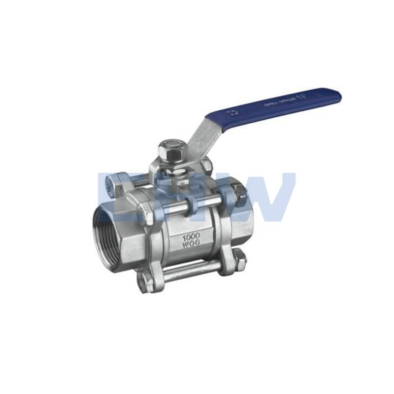Sanitary stainless steel high quality 3 pcs ball valve SS304 SS316L DIN SMS ISO 3A BPE IDF AS BS