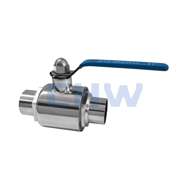 Sanitary stainless steel high quality Straight through ball valve SS304 SS316L DIN SMS ISO 3A BPE IDF AS BS