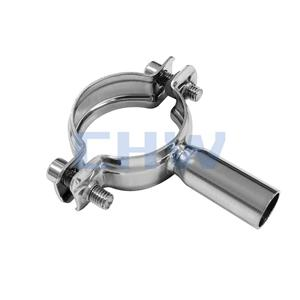 Sanitary Stainless steel SS304 SS316L tube fittings stainless steel