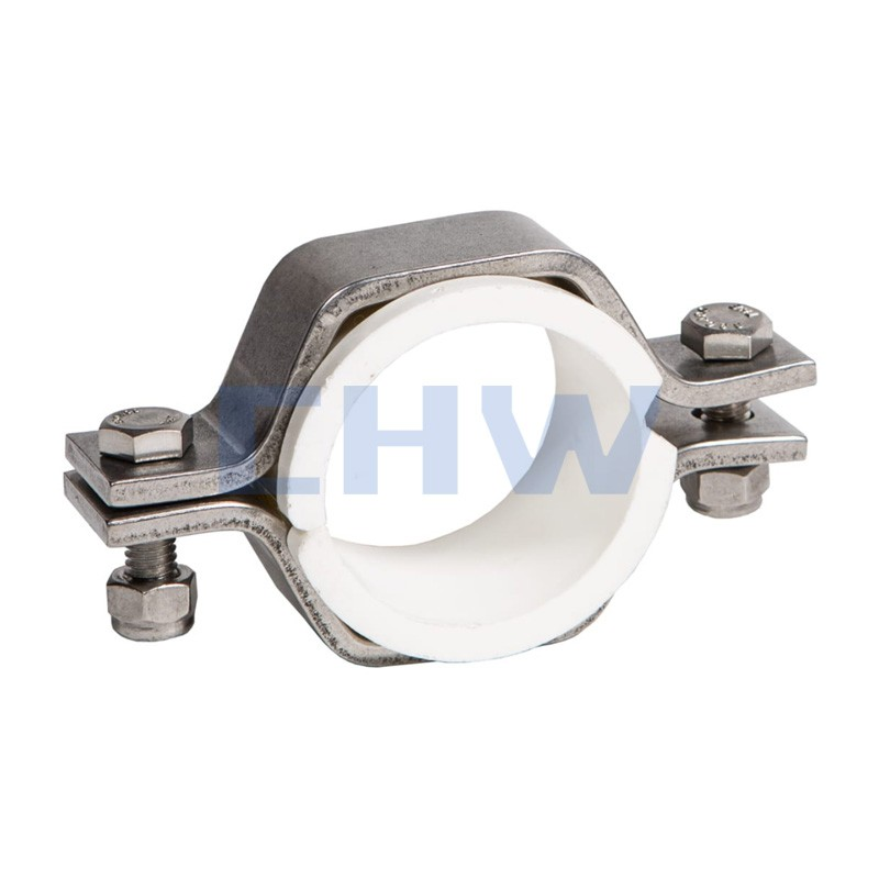 Sanitary Stainless steel SS304 SS316L pipe clips
