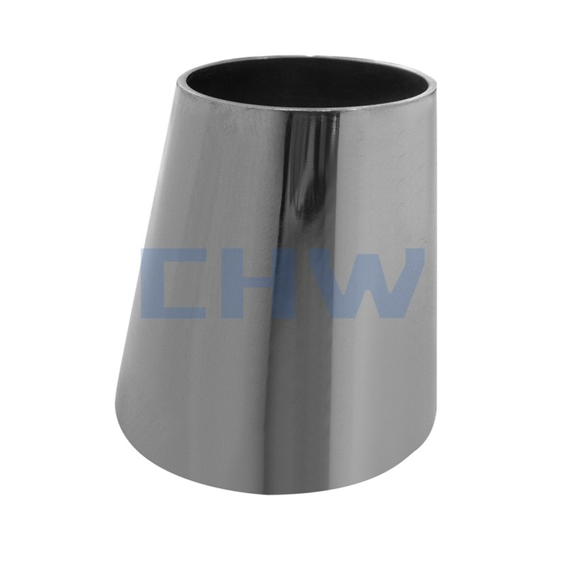 Sanitary stainless steel high quality eccentric reducer SS304 SS316L DIN SMS ISO 3A BPE IDF AS BS