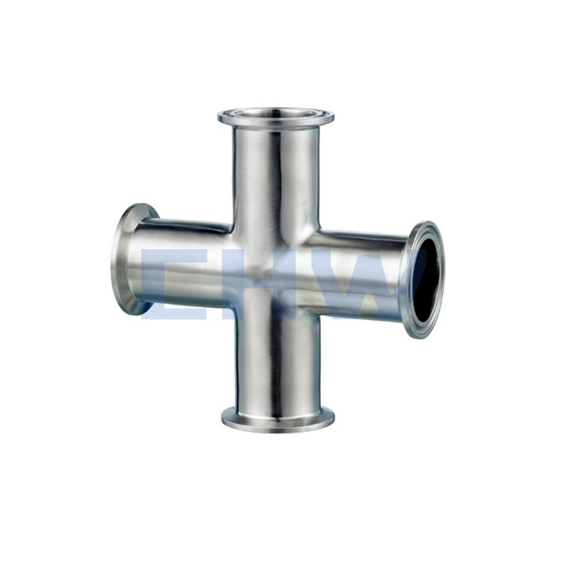 Sanitary stainless steel high quality weld cross ends ferrule SS304 SS316L DIN SMS ISO 3A BPE IDF AS BS
