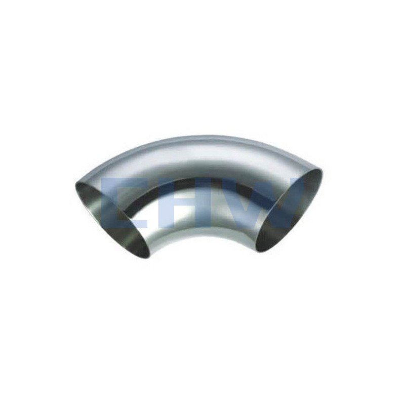 Stainless steel sanitary 90D SS304 SS316L elbow DIN SMS ISO 3A BPE IDF AS BS