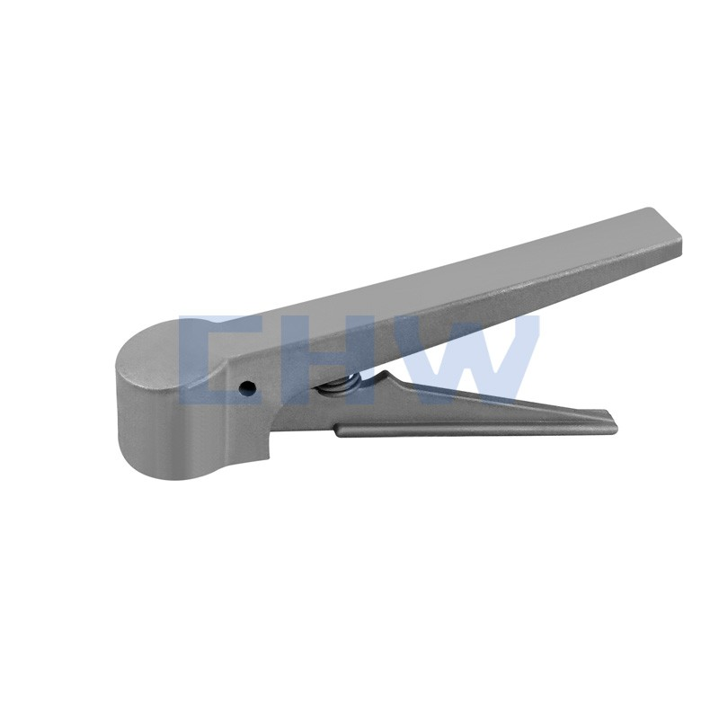 Sanitary stainless steel high quality Plastic press handle and press handle ss304