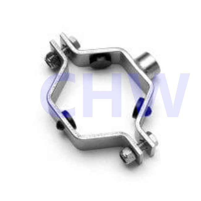 Stainless steel fitting clamps