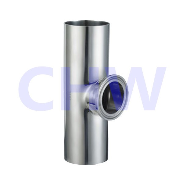 Sanitary stainless stee high quality Short equal tee SS304 SS316L DIN SMS ISO 3A BPE IDF AS BS
