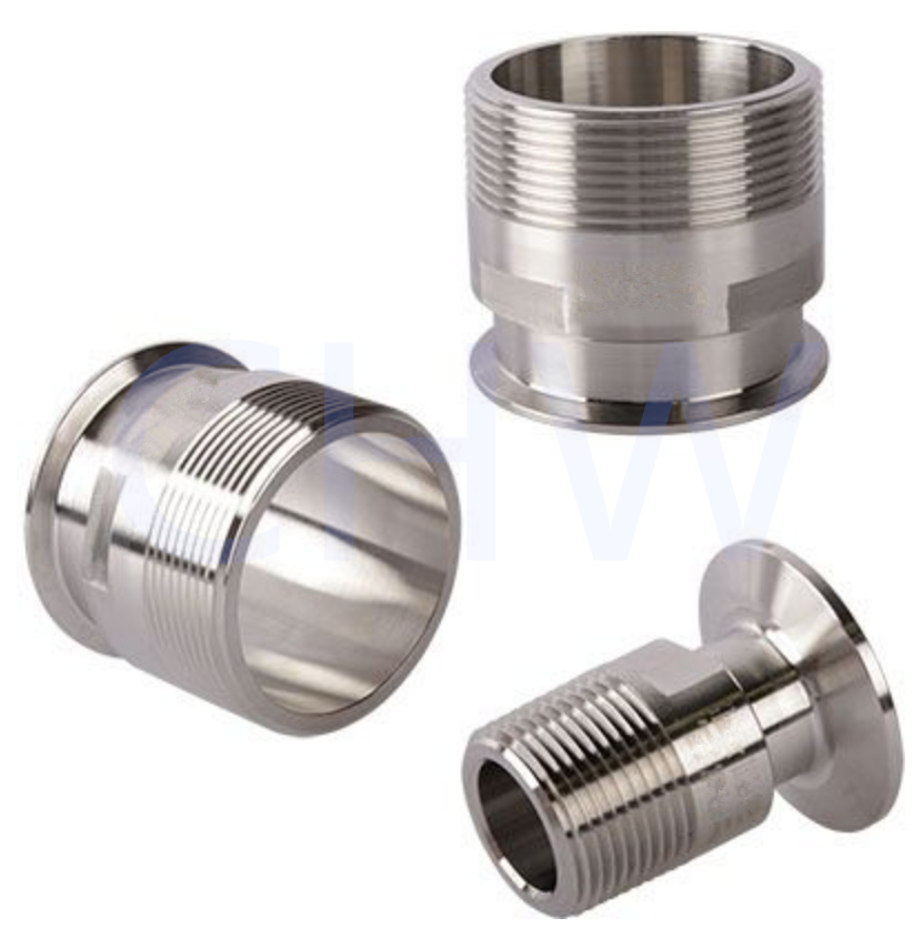 Tri Clamp to Male NPT Adapters