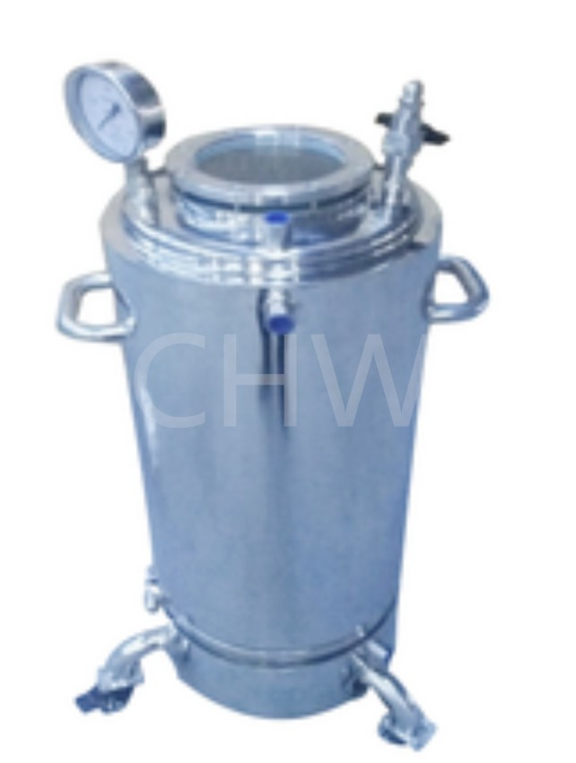 Stainless Steel Double Jacketed Recovery Collection Tanks for BHO Closed Loop Extractor System