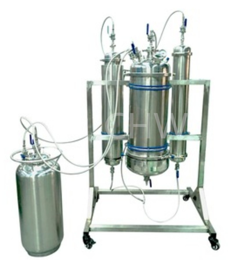 SS304 5LB FOR CUSTOMIZED CLOSED LOOP PASSIVE BHO EXTRACTOR