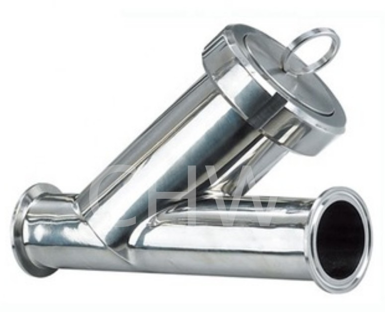Sanitary stainless steel high quality Filter Y Type ss304 ss316L DIN SMS ISO 3A BPE IDF AS BS