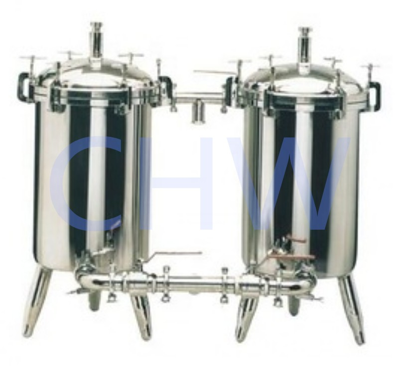 Sanitary stainless steel high quality Micro Filter Duplex ss304 ss316L DIN SMS ISO 3A BPE IDF AS BS