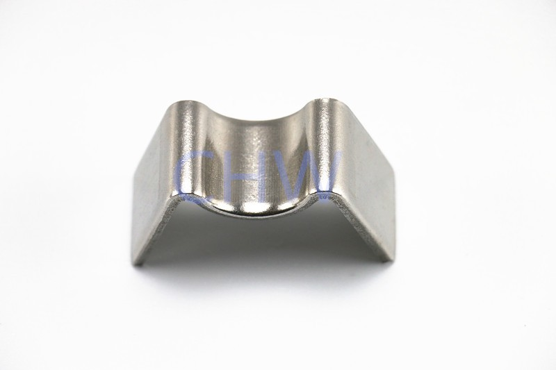 Sanitary Stainless steel SS304 SS316L pipe clamps holders pipe support clips simple tubing hanger