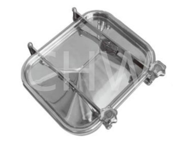 Sanitary stainless steel Sanitary Stainless Steel Rectangular Manhole cover Tank Manway