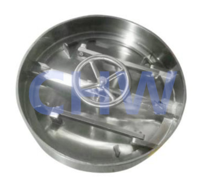 Stainless steel ss304 ss316L Chemical level human hole Manway Manhole