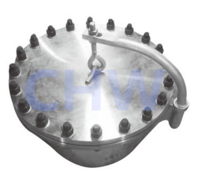 Stainless steel 304 316L Chemical level human hole Manway Manhole