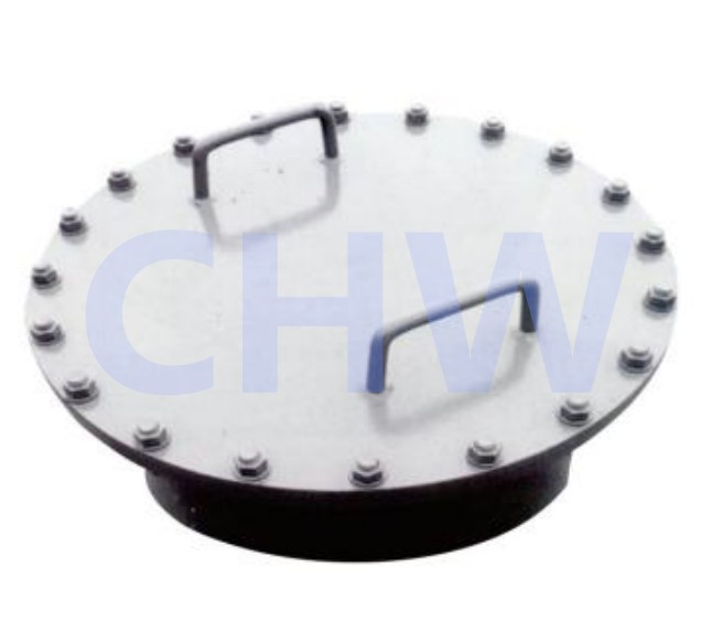 Stainless steel ss304 and ss316L Chemical level human hole Manway Manhole