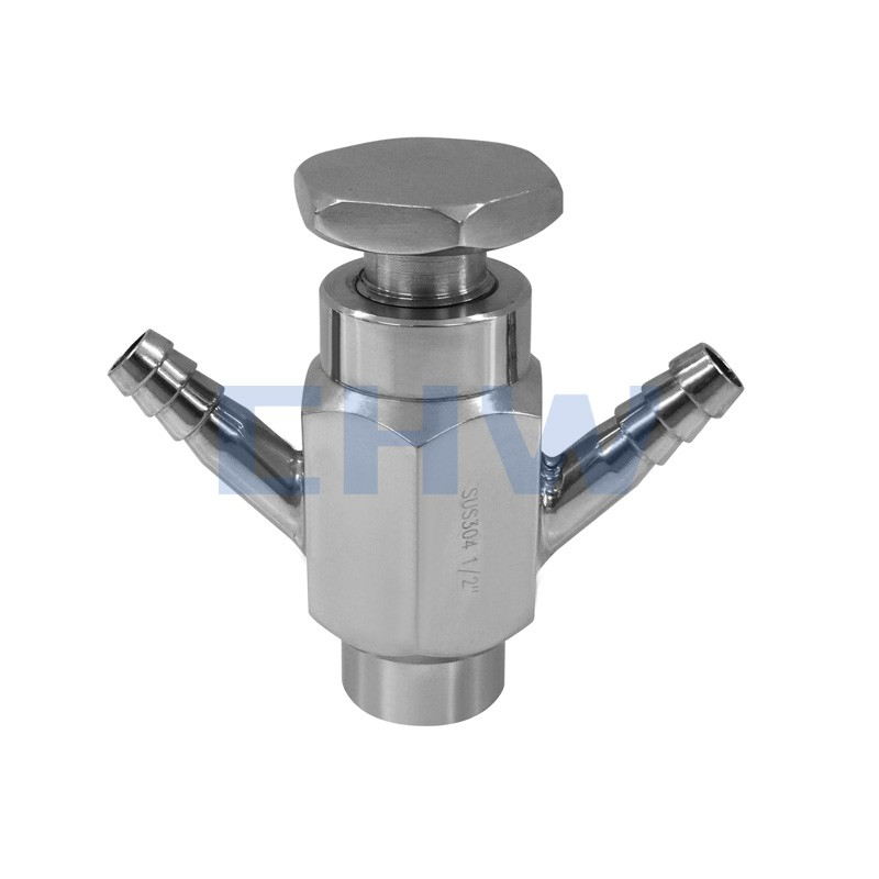 Sanitary stainless steel high quality Sanitaion sampling valve ss304 ss316L DIN SMS ISO 3A BPE IDF AS BS