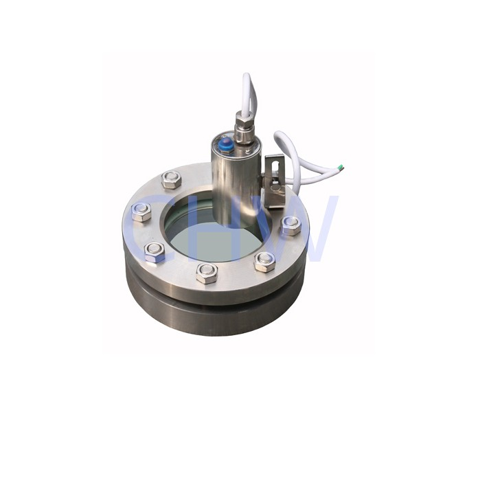 Stainless steel sanitary flanged sight glass SS304 SS316L DIN SMS ISO 3A BPE IDF AS BS
