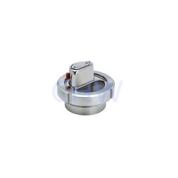 sanitary Stainless steel union type sight glass SS304 SS316L DIN SMS ISO 3A BPE IDF AS BS