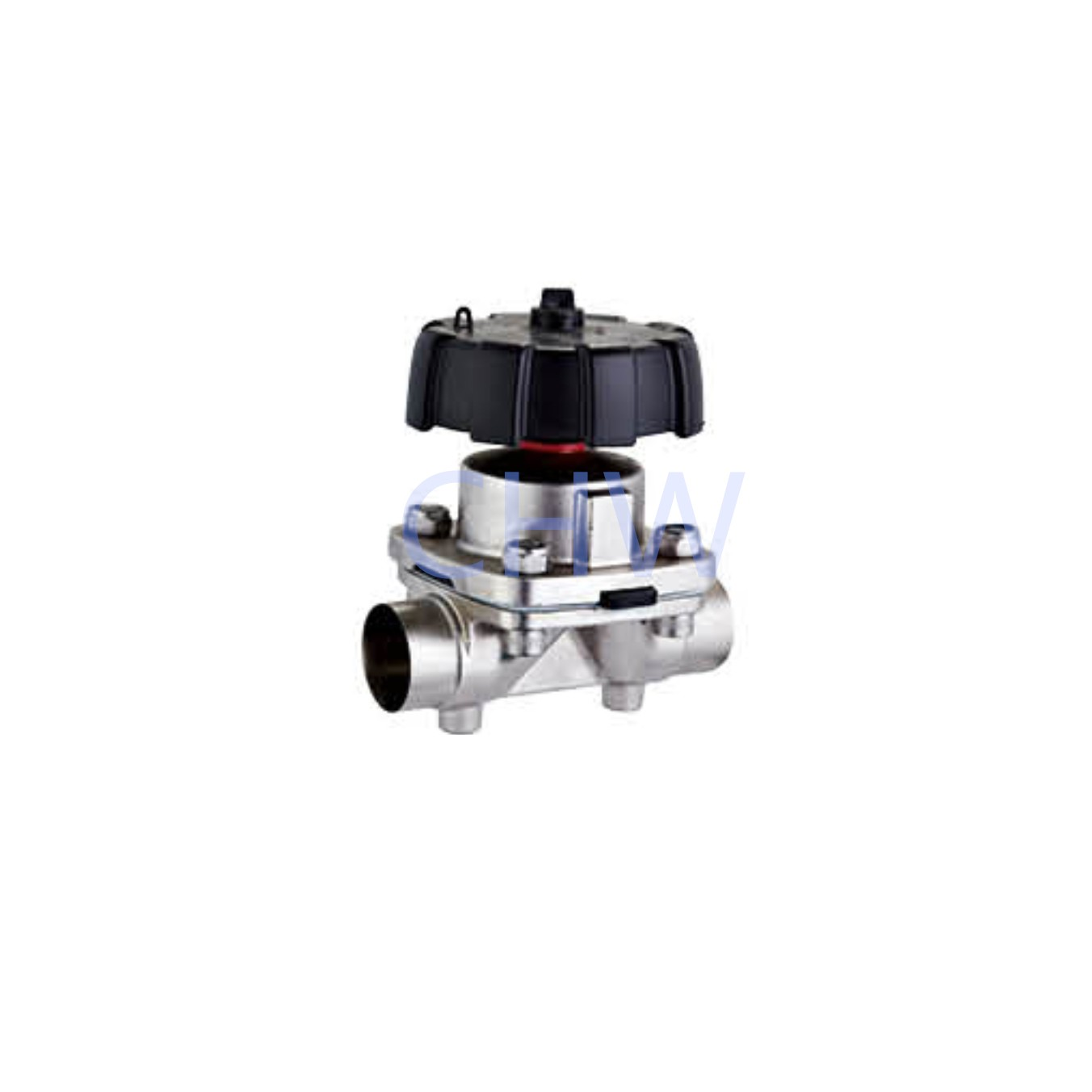 Sanitary stainless steel high quality Manual Welding Diaphragm Valve ss304 ss316L DIN SMS ISO 3A BPE IDF AS BS