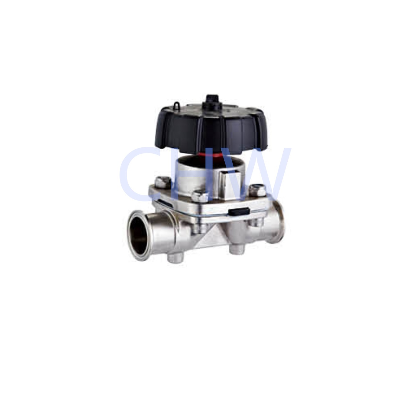 Sanitary stainless steel high quality Manualy Operated Diaphragm Vlave ss304 ss316L DIN SMS ISO 3A BPE IDF AS BS
