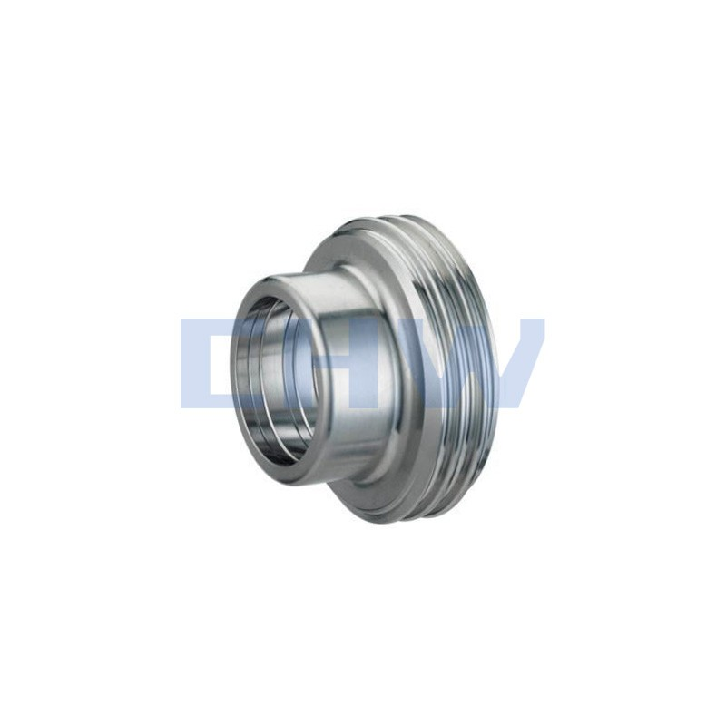 Sanitary stainless steel high quality Expanded Male ss304 ss316L DIN SMS ISO 3A BPE IDF AS BS