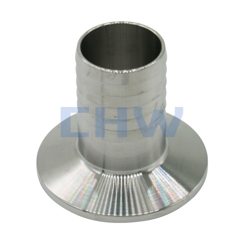 Sanitary stainless steel high quality Screwed Liner ss304 ss316L DIN SMS ISO 3A BPE IDF AS BS Expansion quick-installed coupler