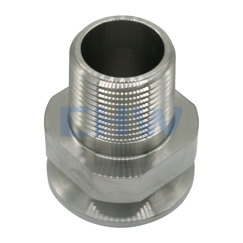 Sanitary stainless steel high quality Screwed ferrule ss304 ss316L DIN SMS ISO 3A BPE IDF AS BS