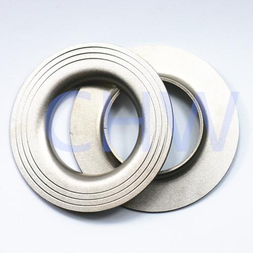 dn 32 125 150 sanitary stainless steel turnup Flange
