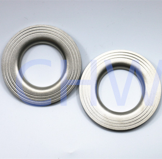 sanitary stainless steel turnup Flange