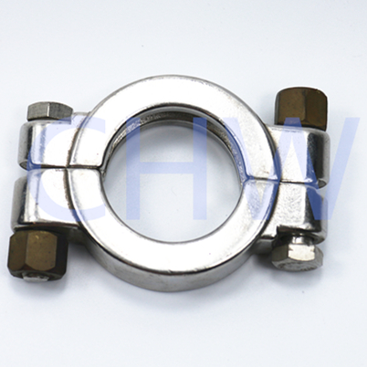 Sanitary high quality stainless steel 304 316l Pipe clamp