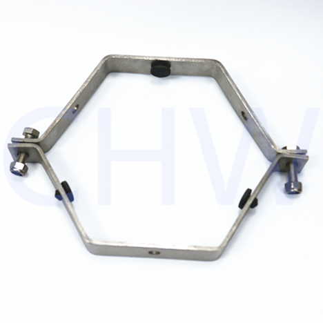 round stand down side of clamp