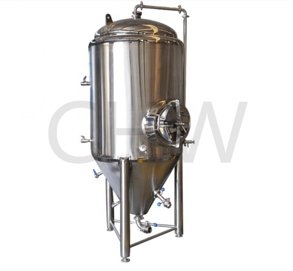 Top quality sanitary 1000 L refrigerated conical fermenter 1000l fermentation tanks size