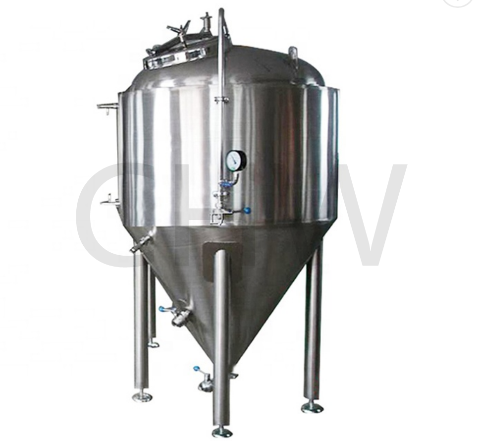 Top quality sanitary 1000 L refrigerated conical fermenter 1000l fermentation tanks
