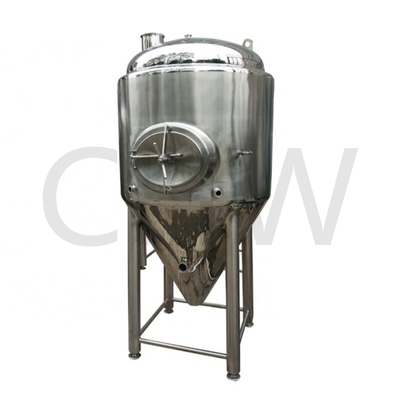 sanitary 1000 L refrigerated conical fermenter 1000l fermentation tanks size