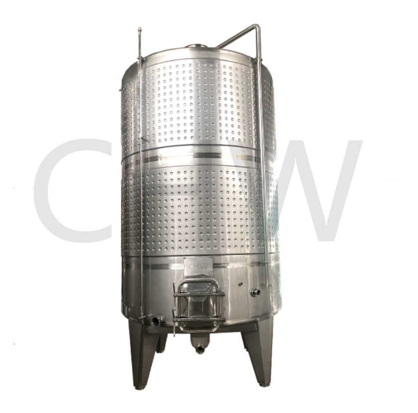 high quality3000L popular glycol jacket wine fermenter sanitary stainless steel tank for winery