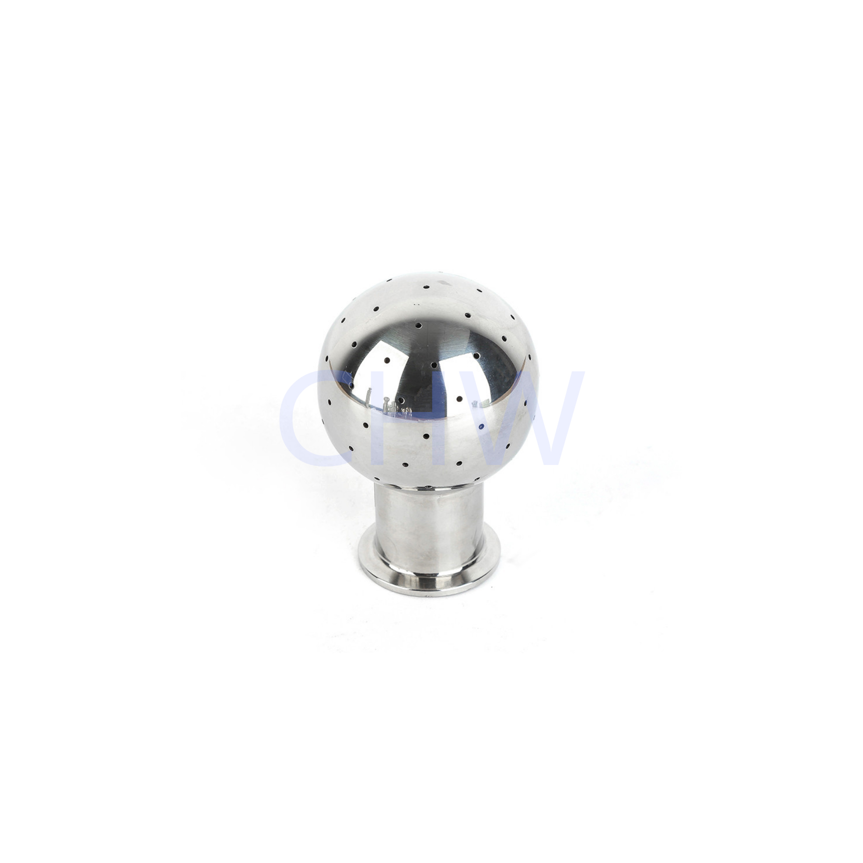 high quality Sanitary stainless steel Welded Rotary Cleaning Ball ss304 ss316L DIN SMS ISO 3A BPE IDF AS BS