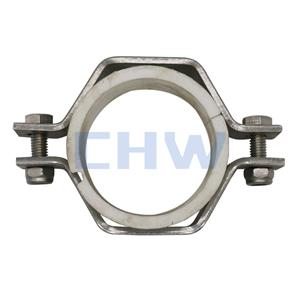 Sanitary Hex Tube Hanger with PVC Sleeve (PVCT)