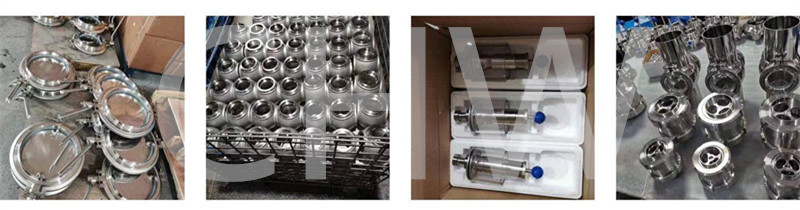 Sanitary stainless steel high quality Clamped Rotary Cleaning Ball ss304 ss316L