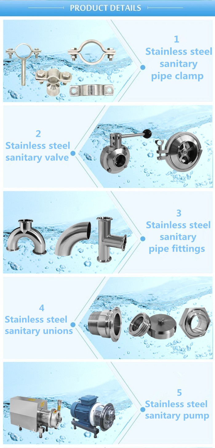 Stainless steel pipe supportStainless steel pipe clamps