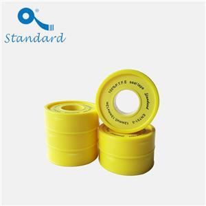Nastro filettato in PTFE giallo ad alta densità