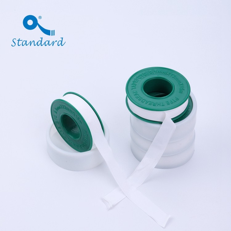 PTFE Material Waterproof Thread Sealing Plumbers Tape