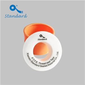 Metal faucet joint seal PTFE thread tape