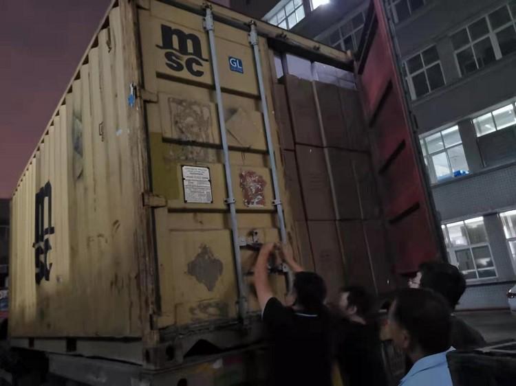 Contenedor de cinta roscada PTFE para enviar mercancías